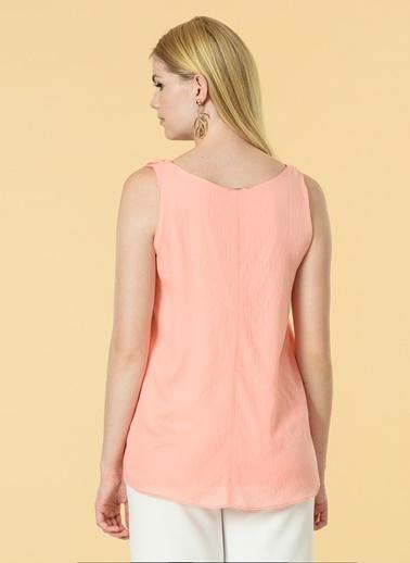 Knit&Co Bluz Oranj